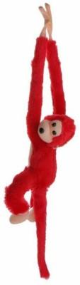 Ansh Red hanging monkey   20 Red Ansh Soft Toys