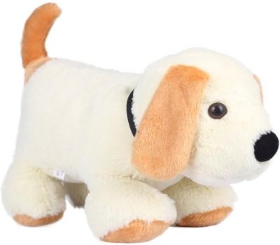 Ultra Cute Dog Soft Toy   17 inch White Ultra Soft Toys