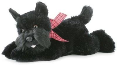 Aurora Plush Mr Nick Scotty Dog Flopsie 12\ Black Aurora Plush Soft Toys