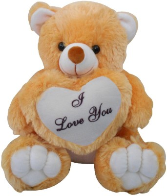 Saugat Traders I Love You Teddy Bear   40 cm Brown, White Saugat Traders Soft Toys