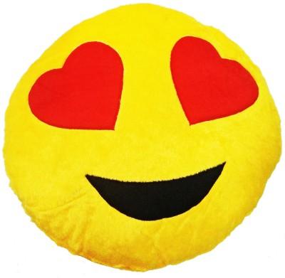 GOLDDUST ABC1 Smiley Emoticon Decorative Cushion   15 inch Multicolor GOLDDUST Soft Toys
