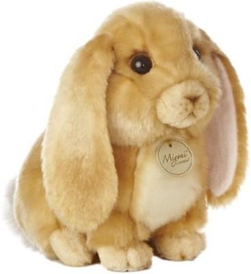 Aurora World Miyoni Lop Eared Rabbit Tan 10\ Brown Aurora World Soft Toys