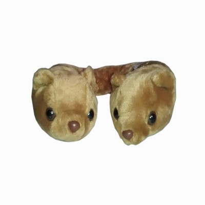 Play N Pets Neck Pillow Bear   12 cm Brown Play N Pets Soft Toys