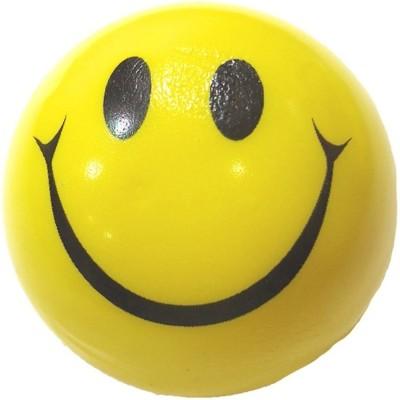 Kraftivity Smiley Face Squeeze Stress Ball   3 inch Yellow Kraftivity Soft Toys