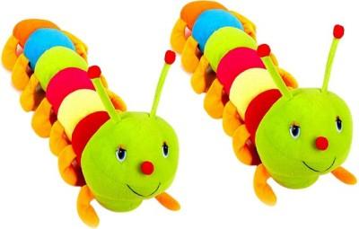 Ewi Soft Toys Stuffed Caterpiller Set of 2  - 55 cm(Multicolor) at flipkart