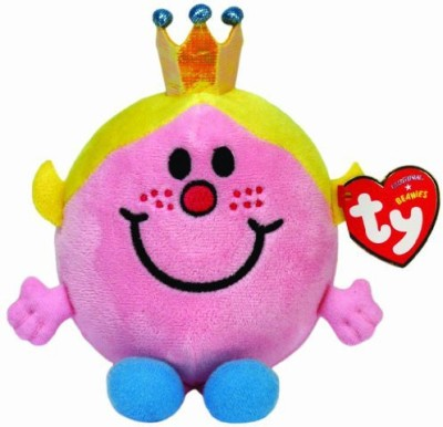 TY Beanie Babies Little Miss Princess  Uk Exclusive  Pink TY Beanie Babies Soft Toys