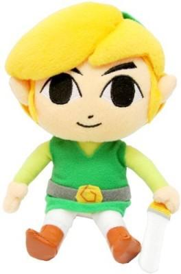 Sanei Legend Of Zelda Link Plush 75\ Yellow Sanei Soft Toys