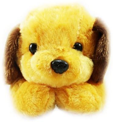 Tickles Adorable Lying Dog   35 cm Brown Dog Tickles Soft Toys