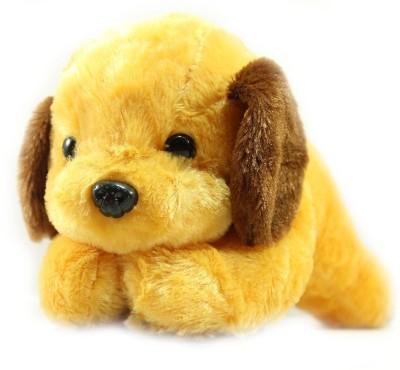 Tickles Adorable Lying Dog2   28 cm Brown Dog Tickles Soft Toys