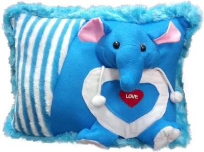 Tickles Elephant Cushion   13 inch Blue Tickles Soft Toys