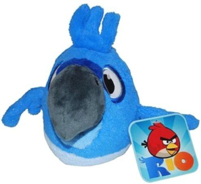 Angry Birds Rio 8Inch Blue Bird With Sound  - 7.87 inch(Blue)