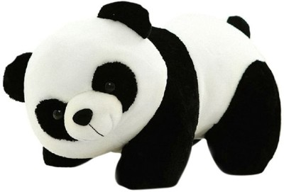 Silvosky Black And White Panda  - 10 cm(Multicolor)
