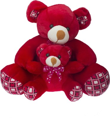 SANA TOYS MOTHER WITH CUTE BABY   42 cm RED SANA TOYS Soft Toys