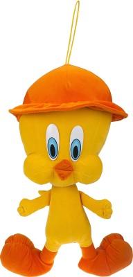 Sana Yellow Duck With Cap CM 52   52 cm Orange Sana Soft Toys
