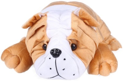 Ultra Bull Dog Soft Toy   18 inch Brown Ultra Soft Toys