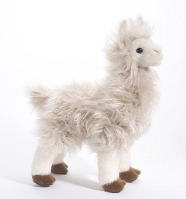 Douglas Cuddle Toys Francois Llama White Douglas Cuddle Toys Soft Toys
