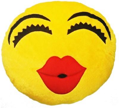 GOLDDUST VKI3 Smiley Emoticon Decorative Cushion   15 inch Multicolor GOLDDUST Soft Toys