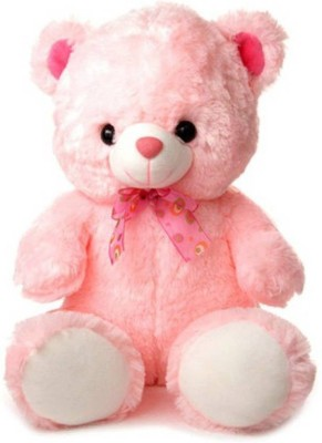 Cuddles collections Cute looking Teddy Bear   45 cm Pink Cuddles collections Soft Toys