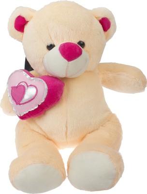 Sana Sweet Bear With Heart 40 cm   40 cm Cream Sana Soft Toys