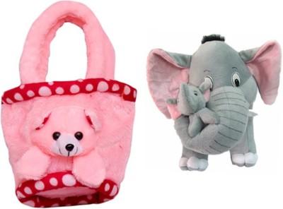 MGPLifestyle Multicolor Combo of Pug Dog Soft Toy  32cm    ABCD Ball   10 cm Multicolor MGPLifestyle Soft Toys