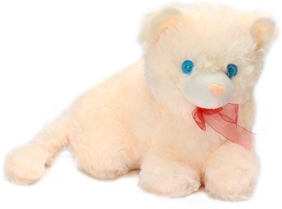 Tickles Cat?   14 Inch Beige Tickles Soft Toys