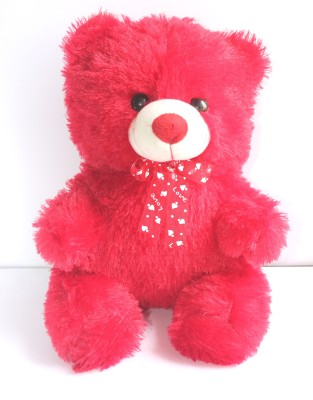 Cuddles collections Lovely looking cute teddy bear Red   50 cm Red Cuddles collections Soft Toys