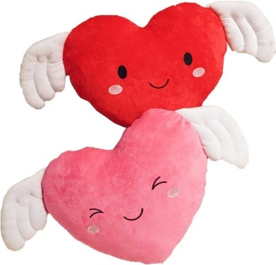 StyBuzz Angel Wing Heart Combo   16 inch Red, Pink StyBuzz Soft Toys