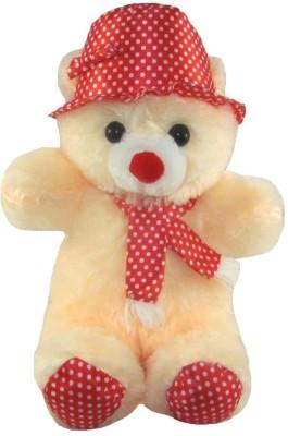 Tickles Gorgeous Cap Teddy   36 cm Beige 1 Tickles Soft Toys