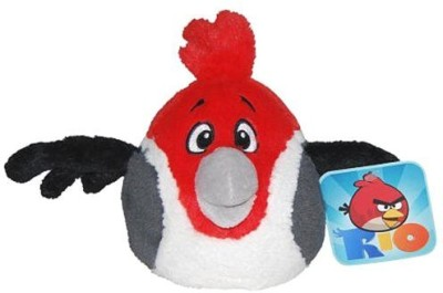 Angry Birds Rio 5Inch Red Bird With Sound(Red)