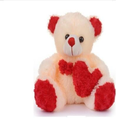 Ktkashish Toys Kashish Sweet Side Heart Teddy Bear 16 Inch   16 inch Beige Ktkashish Toys Soft Toys