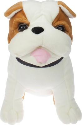 SANA TOYS HUTCH DOG   10 cm BROWN SANA TOYS Soft Toys