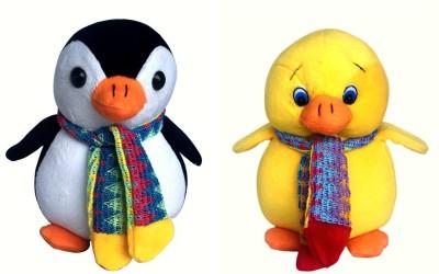 Lata Lata Cute Baby Penguin And Duckling   20 cm Multicolour Lata Soft Toys