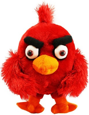 Tickles Angry Birds   25 cm Red Tickles Soft Toys