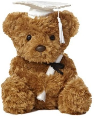 Aurora World Graduation Bear Plushwhite Cap85\ Brown Aurora World Soft Toys