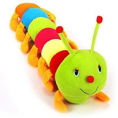 VRV VRV Cute Colorful Caterpillar   5 cm Multicolor VRV Soft Toys