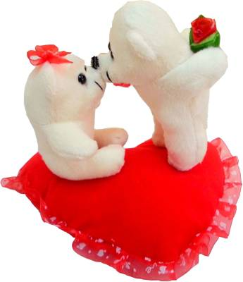 Fun&Funky Kissing Couple Teddy - 10 Inch