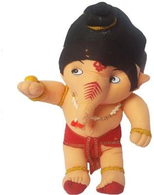 AayKayEnterprises My Friend Ganesha soft Toy 42 cm   42 cm Red AayKayEnterprises Soft Toys