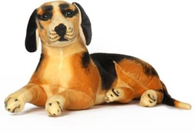 V Golly Jolly Nx Beagle Dog   70 cm Black, Brown V Golly Jolly Nx Soft Toys