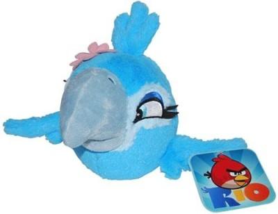 Angry Birds Rio 5Inch Girl Jewel Bird With Sound(Blue)