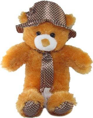 Tickles Cute Cap Teddy48   45 cm Brown Tickles Soft Toys