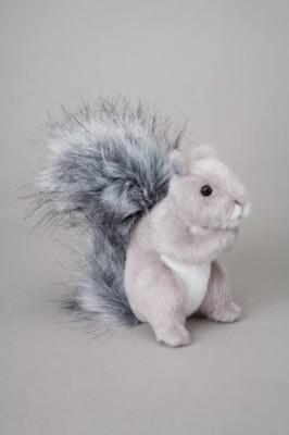 Douglas Cuddle Toys Shasta Squirrel 5\ Grey Douglas Cuddle Toys Soft Toys