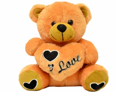 Jrp Mart Love Teddy   25 cm Orange Jrp Mart Soft Toys
