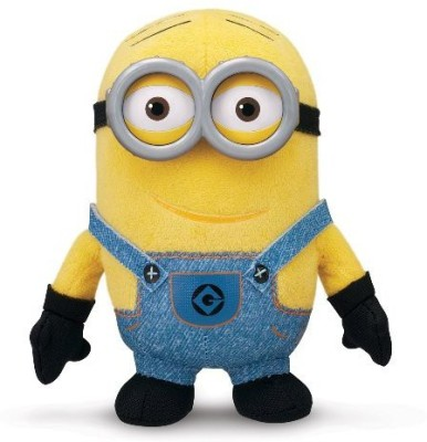 Despicable Me Buddies-Soft Huggable Friends-Minion Dave Plush  - 5 inch(Multicolor)