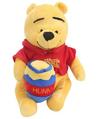 DISNEY Pooh with Honey Pot   25 cm Red, Yellow DISNEY Soft Toys