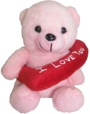 Tickles Sweet I Love You Teddy   16 cm Pink 1 Tickles Soft Toys