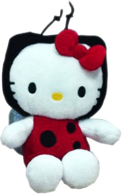 Hello Kitty Lady Beetle Custome  - 8 inch(Red, White)
