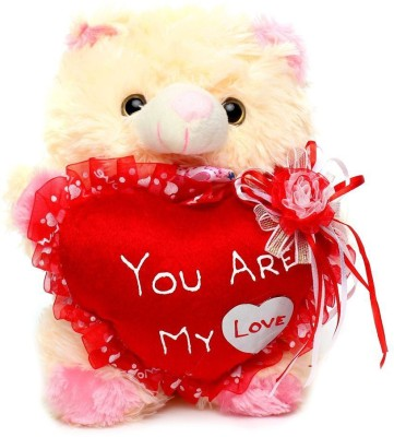 Tickles You Are My Love Heart Teddy   21 cm Pink Tickles Soft Toys