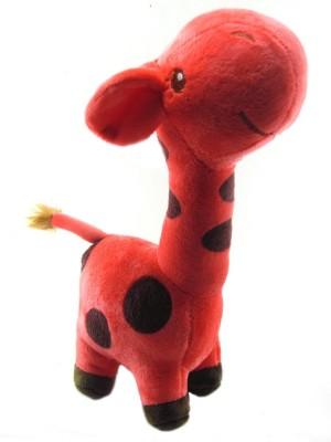 Tickles Polka Giraffe   26 cm Red Tickles Soft Toys