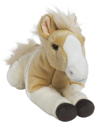 Hamleys Lying Horse   7.9 inch Brown Hamleys Soft Toys