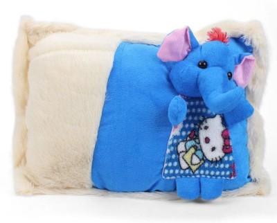 Tickles Cute Elephant Cushion   38 cm Blue Tickles Soft Toys